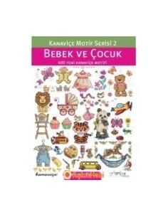BOOKS Kanavice Motif Serisi 2: Bebek ve Cocuk