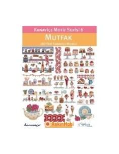 BOOKS Kanavice Motif Serisi 6 Mutfak