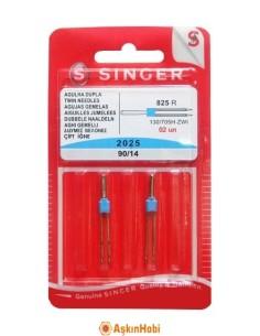 SINGER SEWING MACHINE NEEDLES SINGER DOUBLE NEEDLE MACHINE 90/14
