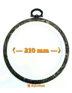 DMC ROUND HOOP FRAME 210