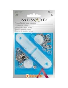MiLWARD PRESS FASTENERS 1107