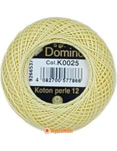 DOMINO COTTON PERLE 12 Domino Koton Perle K0025 (No:12)
