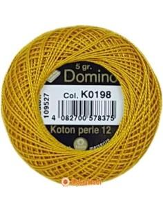 DOMINO COTTON PERLE 12 Domino Koton Perle K0198 (No:12)