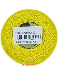 DOMINO COTTON PERLE 12 Domino Koton Perle K0136 (No:12)