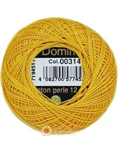 DOMINO COTTON PERLE 12 Domino Koton Perle 00314 (No:12)