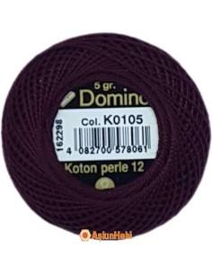 DOMINO COTTON PERLE 12 Domino Koton Perle K0105 (No:12)