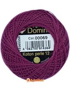 DOMINO COTTON PERLE 12 Domino Koton Perle 00069 (No:12)