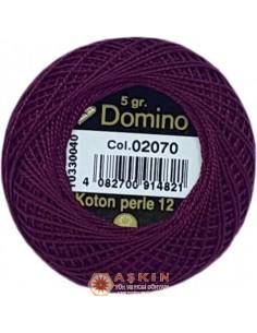 DOMINO COTTON PERLE 12 Domino Koton Perle 02070 (No:12)