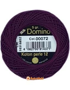 DOMINO COTTON PERLE 12 Domino Koton Perle 00072 (No:12)