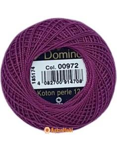 DOMINO COTTON PERLE 12 Domino Koton Perle 00972 (No:12)