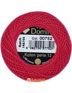 DOMINO COTTON PERLE 12 Domino Koton Perle 00752 (No:12)