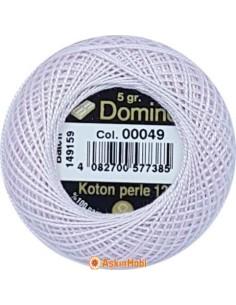 DOMINO COTTON PERLE 12 Domino Koton Perle 00049 (No:12)