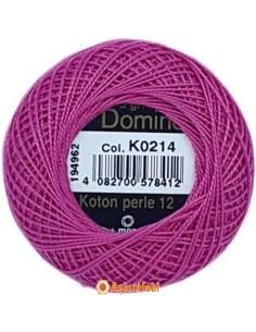 DOMINO COTTON PERLE 12 Domino Koton Perle K0214 (No:12)
