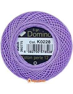 DOMINO COTTON PERLE 12 Domino Koton Perle K0228 (No:12)