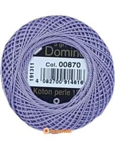 DOMINO COTTON PERLE 12 Domino Koton Perle 00870 (No:12)