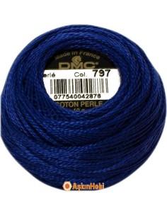 DMC COTON PERLE ART 116 DMC Koton Perle 797 (No:5-8)