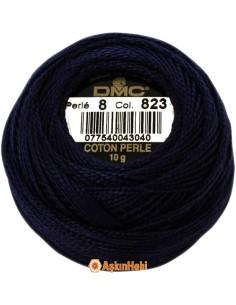 DMC COTON PERLE ART 116 DMC Koton Perle 823 (No:5-8)