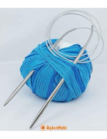 Steel Circular knitting needles 4,00mm
