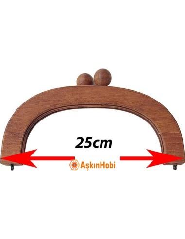 ÇANTA BURSLARI AHŞAP ÇANTA BURSU 25cm