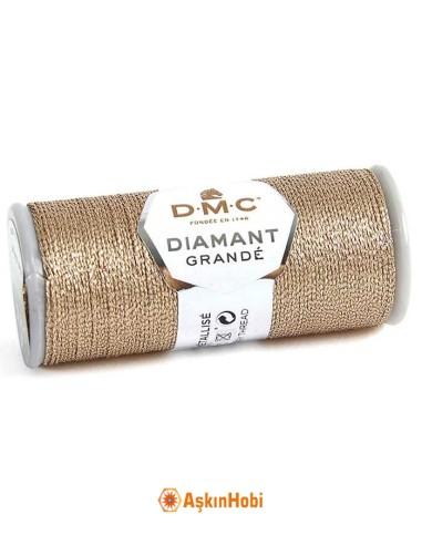 DIAMANT GRANDE THREAD DMC Diamant Grande Metallic Embroidery Thread G225