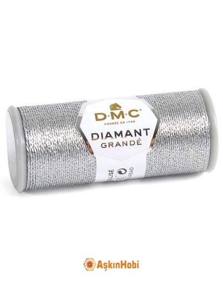 DIAMANT GRANDE THREAD DMC Diamant Grande Metallic Embroidery Thread G415