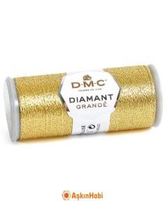 DIAMANT GRANDE THREAD DMC Diamant Grande Metallic Embroidery Thread G3821