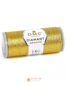 DIAMANT GRANDE THREAD DMC Diamant Grande Metallic Embroidery Thread G3852