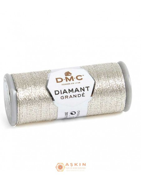 DIAMANT GRANDE THREAD DMC Diamant Grande Metallic Embroidery Thread G168
