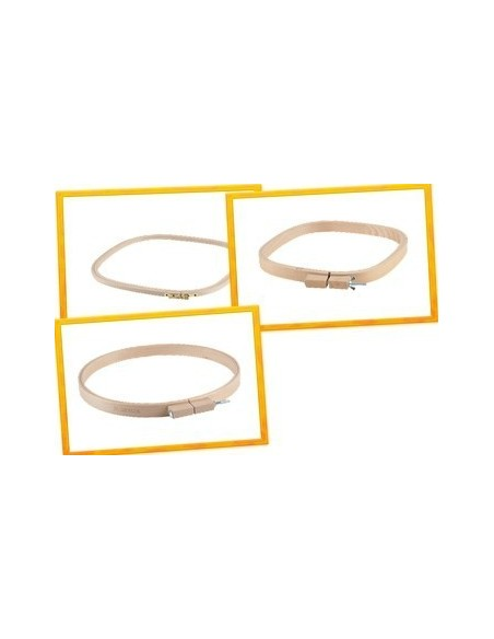 Sirin Square - Oval Embroidery Hoops