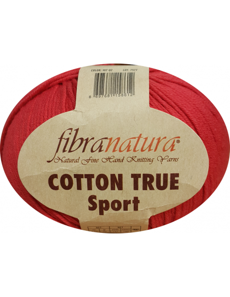 FiBRA NATURA COTTON TRUE SPORT