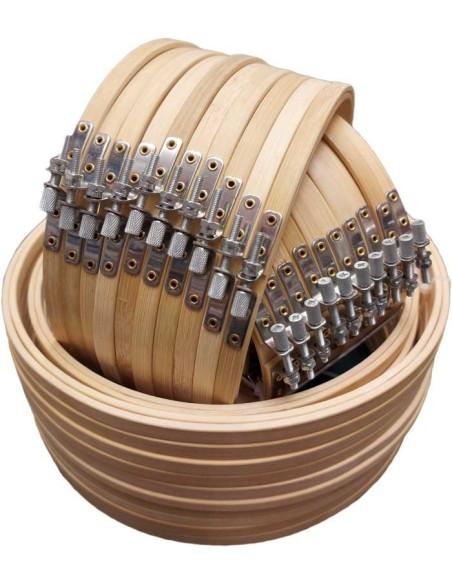 Bamboo Screw Embroidery Hoop